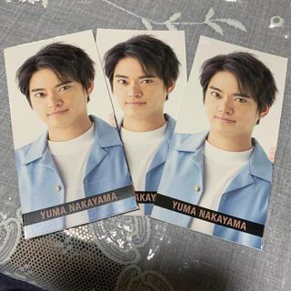 ジャニーズ(Johnny's)のMyojo 6月号 中山優馬 メッセージカード(アイドルグッズ)