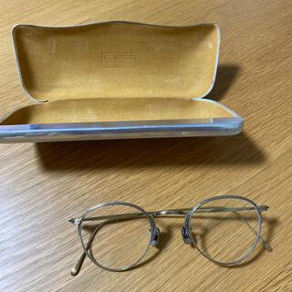 BARNEYS NEW YORK - 【未使用】EYEVAN7285 ゴールドメタルフレーム 眼鏡 サングラス