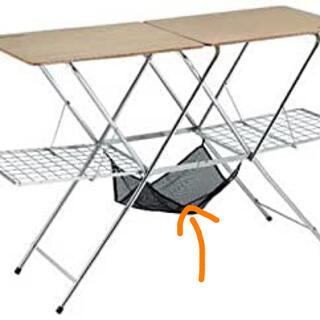 ユニフレーム(UNIFLAME)のメッシュハンモック ユニフレーム キッチンスタンド(テーブル/チェア)