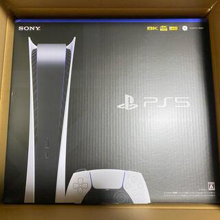 PlayStation - 【新品未開封】プレイステーション5 Digital Edition PS5