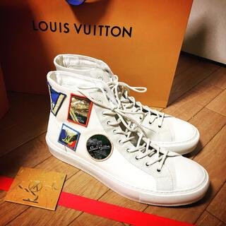 LOUIS VUITTON - 【美品】ルイヴィトン タトゥーラインスニーカー ワッペン