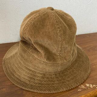 ジーユー(GU)のGU コーデュロイ ハット 帽子(ハット)