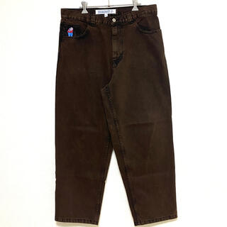 POLAR - Polar skate co big boy jean washed brown