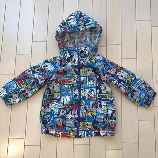 ディズニー(Disney)のウィンドブレーカー ミッキー 100サイズ(その他)