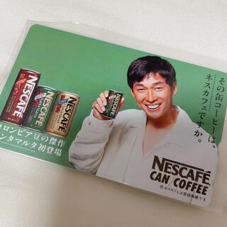 明石家さんま テレフォンカード 未使用 ネスカフェ(お笑い芸人)