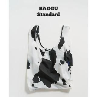 エディットフォールル(EDIT.FOR LULU)のカウ 牛 Cow ホワイト 白黒 BAGGU baguu バグー スタンダード(エコバッグ)