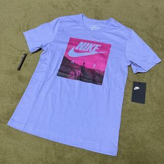ナイキ(NIKE)の新品 NIKEメンズXS 薄紫(Tシャツ(半袖/袖なし))