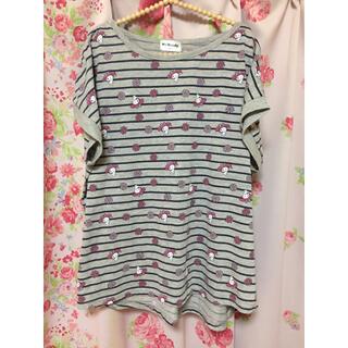 シマムラ(しまむら)の(4L)* マイメロ 半袖 *(Tシャツ(半袖/袖なし))