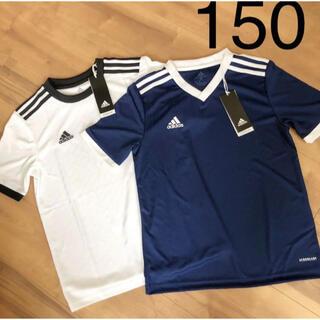 アディダス(adidas)のアディダス ジュニア 150 tシャツ  半袖 サッカー AEROREADY(Tシャツ/カットソー)