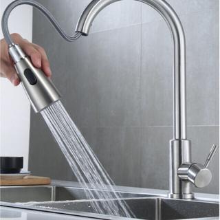2021最新版 ホース式キッチン用水栓 混合水栓  シャワー 日本語説明書(その他)