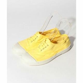 ベンシモン(BENSIMON)の新品¥6,380 BENSIMONベンシモン * 定番スニーカー 黄色23.5㎝(スニーカー)