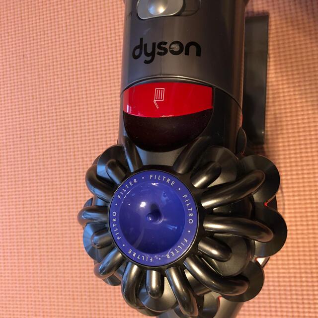 Dyson(ダイソン)のダイソン ハンディ 掃除機 バッテリー付き! スマホ/家電/カメラの生活家電(掃除機)の商品写真
