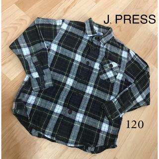 ジェイプレス(J.PRESS)のJ.PRESS 長袖シャツ 120 ジェープレス(Tシャツ/カットソー)