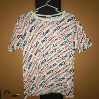 ジーユー(GU)のコカコーラ Tシャツ(Tシャツ(半袖/袖なし))