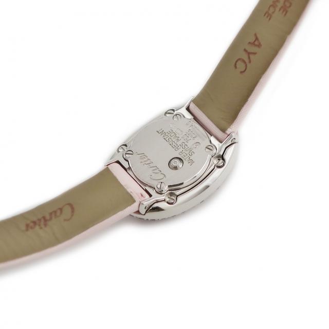 Cartier(カルティエ)のカルティエ  ミニベニュワール WB513031 クオーツ レディース レディースのファッション小物(腕時計)の商品写真