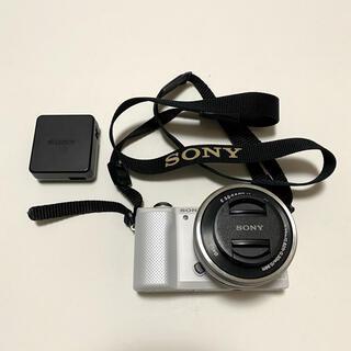 SONY - SONY α5000ミラーレスカメラ