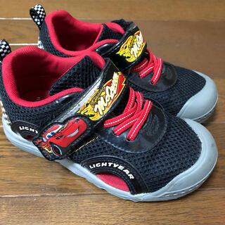 ディズニー(Disney)の☆ほぼ未使用☆ マックイーン カーズ サンダル スニーカー 靴 18cm(スニーカー)