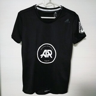 アディダス(adidas)のadidas 半袖Tシャツ ar 非売品 ブラック(Tシャツ(半袖/袖なし))