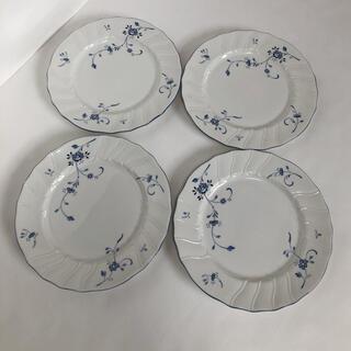 ニッコー(NIKKO)の●NIKKOニッコー/ エーデルブルーメ 20.5cm4枚セット 強化磁器① (食器)