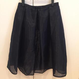 チェスティ(Chesty)の新品未使用!50%off チェスティ オーガンジースカート(ひざ丈スカート)
