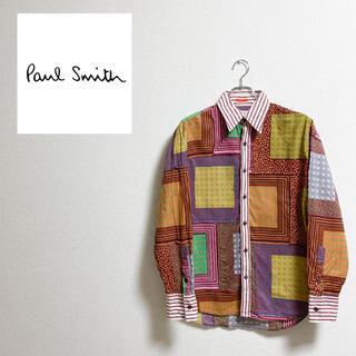 Paul Smith - 【美品】 Paul Smith デザイナーズシャツ サイズ