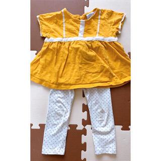 ザラキッズ(ZARA KIDS)のZARA Baby 半袖 レギンス セット(Tシャツ/カットソー)