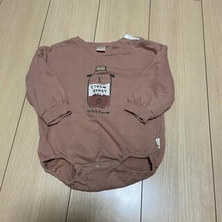 futafuta - テートアテート 牛柄 ロンパース 80cm