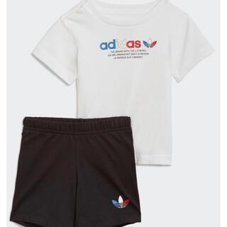 アディダス(adidas)の新品 アディダス オリジナルス 半袖 Tシャツ パンツ セット レア タグ付(Tシャツ/カットソー)