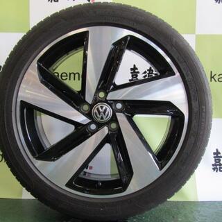 フォルクスワーゲン(Volkswagen)のフォルクスワーゲン 2G系 ポロ GTI純正 ミルトンキーンズ 4本セット(タイヤ・ホイールセット)