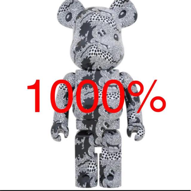 MEDICOM TOY(メディコムトイ)のBE@RBRICK KeithHaring Mickey Mouse 1000% エンタメ/ホビーのおもちゃ/ぬいぐるみ(キャラクターグッズ)の商品写真