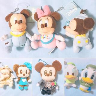 Disney - 未使用★ディズニー★マスコット豪華8点セット♡ミッキー ミニー ドナルド
