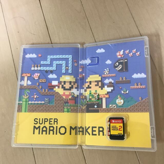 Nintendo Switch(ニンテンドースイッチ)のスーパーマリオメーカー2 Switch エンタメ/ホビーのゲームソフト/ゲーム機本体(家庭用ゲームソフト)の商品写真