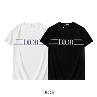 Tシャツ☆ディオール Dior☆2枚8000円/男女兼用半袖0302