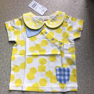 NARUMIYA INTERNATIONAL - タグ付き新品 ベイビーチアー レモン襟Tシャツ80