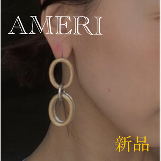 Ameri VINTAGE - 定1.1万☘AMERI アメリ☘リング レイヤード ピアス☘ゴールド&シルバー