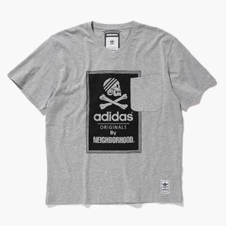 アディダス(adidas)のアディダス×ネイバーフッド Tシャツ adidas NH SSL V TEE(Tシャツ/カットソー(半袖/袖なし))
