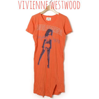 Vivienne Westwood - vivienne westwood ANGLOMANIA 半袖 ワンピース