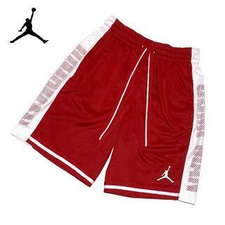ナイキ(NIKE)の新品 XLサイズ ナイキ ジョーダン ショート パンツ ジャンプマン ハーフ 赤(ショートパンツ)