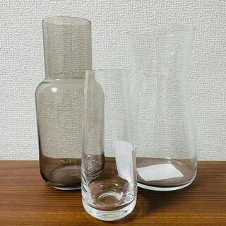 IKEA - イケア 花瓶 フラワーベース フラワーポット シリンダー ガラス おしゃれ 北欧
