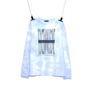 ピースマイナスワン(PEACEMINUSONE)のPMO POCKET L/S T-SHIRT #1 SKY BLUE(Tシャツ/カットソー(七分/長袖))