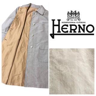 HERNO - 【激レア】Herno ヘルノ 総刺繍トレンチコート リバーシブル イタリア製