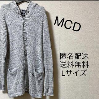 エムシーディーマシン(M.C.D MACHINE)のMCD カーディガン(カーディガン)