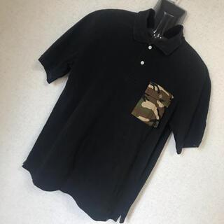 エクストララージ(XLARGE)のX-LARGE エクストララージ ゆるダボ 迷彩 半袖 ポロシャツ L(ポロシャツ)