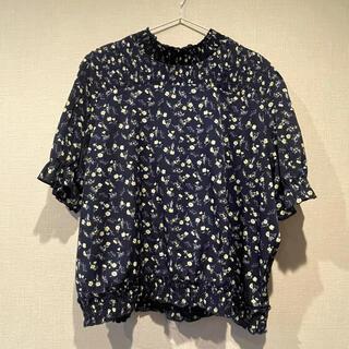 シマムラ(しまむら)のしまむら 小花柄 トップス 大きいサイズ 3L(カットソー(半袖/袖なし))