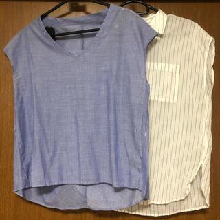 テチチ(Techichi)のLugnoncure ルノンキュール ボーダー トップス 2点セット (Tシャツ(半袖/袖なし))