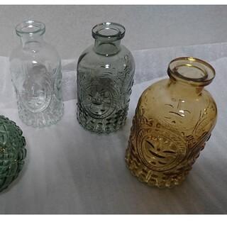 新品 アンティーク風 ガラス 花瓶 ①