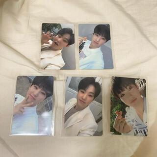 セブンティーン(SEVENTEEN)のホシ happy ending トレカ コンプ carat盤(K-POP/アジア)