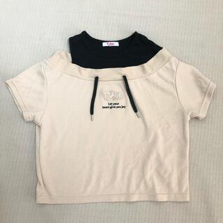 ピンクラテ(PINK-latte)の140cm ピンクラテ 女の子トップス 新品(Tシャツ/カットソー)