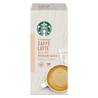 スターバックスコーヒー(Starbucks Coffee)のスターバックス プレミアム ミックス カフェ ラテ 1箱4本入(コーヒー)