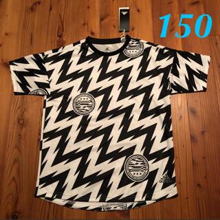 アディダス(adidas)のadidas  ボーイズ Tシャツ ホワイト×ブラック 150(Tシャツ/カットソー)